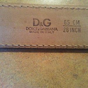A dulce and gaddana belt